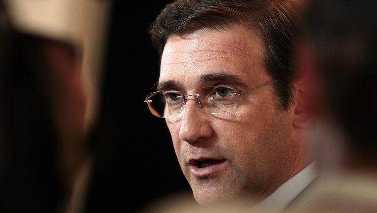 Portugese minister-president Pedro Passos Coelho Beeld ANP