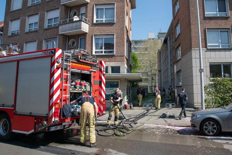 Op de Boomsesteenweg brandde een slaapkamer uit.
