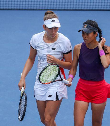 Indian Wells: Elise Mertens en quarts de finale du double, Vliegen et Gillé éliminés