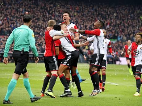 LIVE: Elia kleineert Arias, Feyenoord sterk uit de kleedkamer