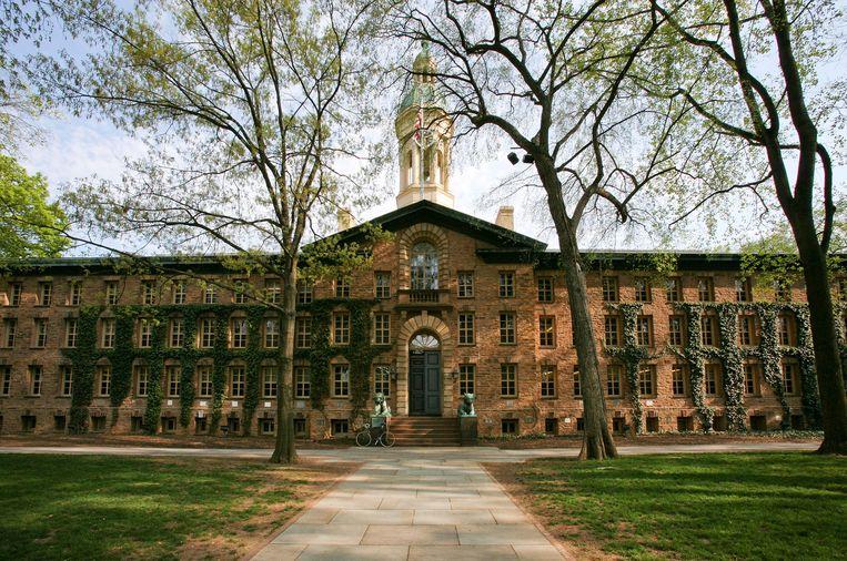 De universiteit van Princeton in de  oostelijke Amerikaanse staat New Jersey. Beeld x