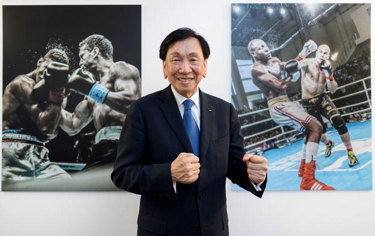 Wu Ching-kuo (71). Taiwan. Vicevoorzitter zomersporten Asoif, voorzitter wereldboksbondAiba, lid hoofdbestuur IOC. Teruggetreden, niet geschorst. Beeld AFP