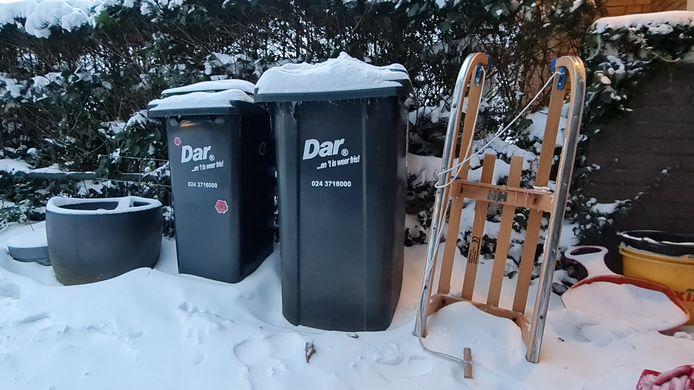 Afvalinzamelaar Dar haalt deze week geen afval op.