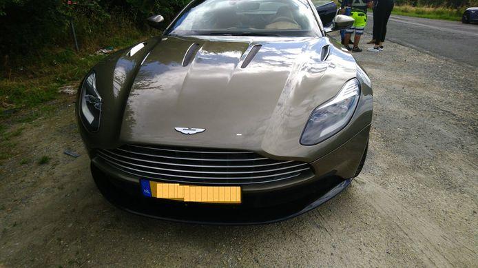 De Aston Martin van de Nederlander.