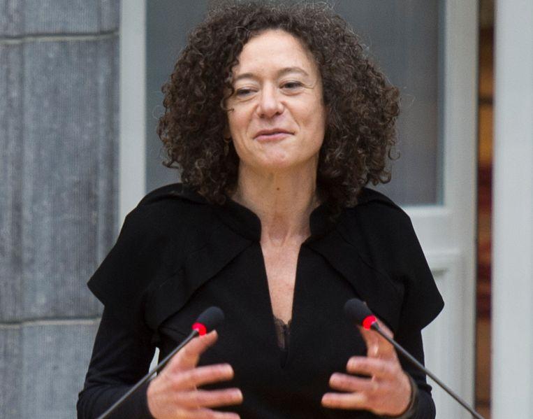 Yasmine Kherbache (sp.a). Beeld BELGA