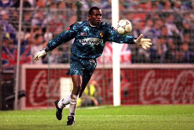 Ajax-vedette Stanley Menzo werd in België in 1996-1997 kampioen met Lierse SK. Beeld BELGAIMAGE
