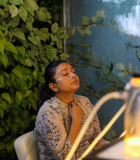 Asphyxiés par la pollution, les Indiens paient 5€ pour respirer de l'air sain pendant 15 minutes