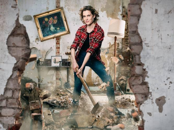 """Dina Tersago gaat met nieuw verbouwprogramma 'Huis Gemaakt' mee in de hype: """"Anderen zien klungelen, dat trekt aan"""""""