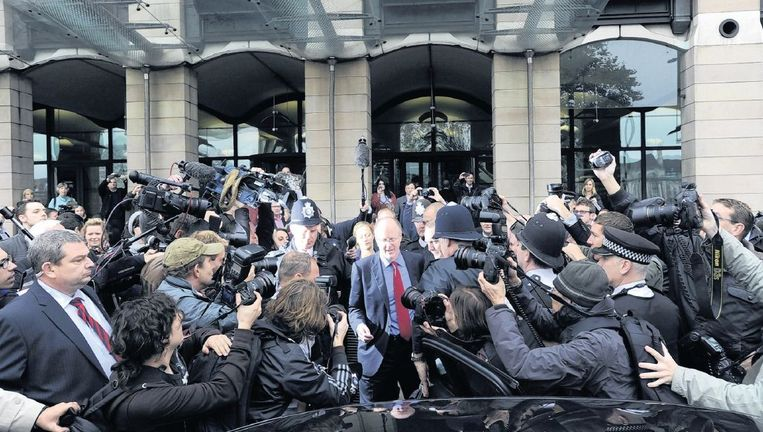 BBC-directeur-generaal George Entwistle nam in 2012 ontslag naar aanleiding van het schandaal rond Jimmy Savile. Beeld epa