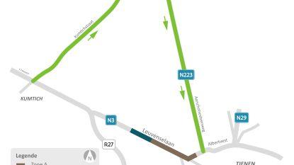 Vernieuwing wegdek van de N3 ter hoogte  van de Withuisstraat en Leuvenselaan