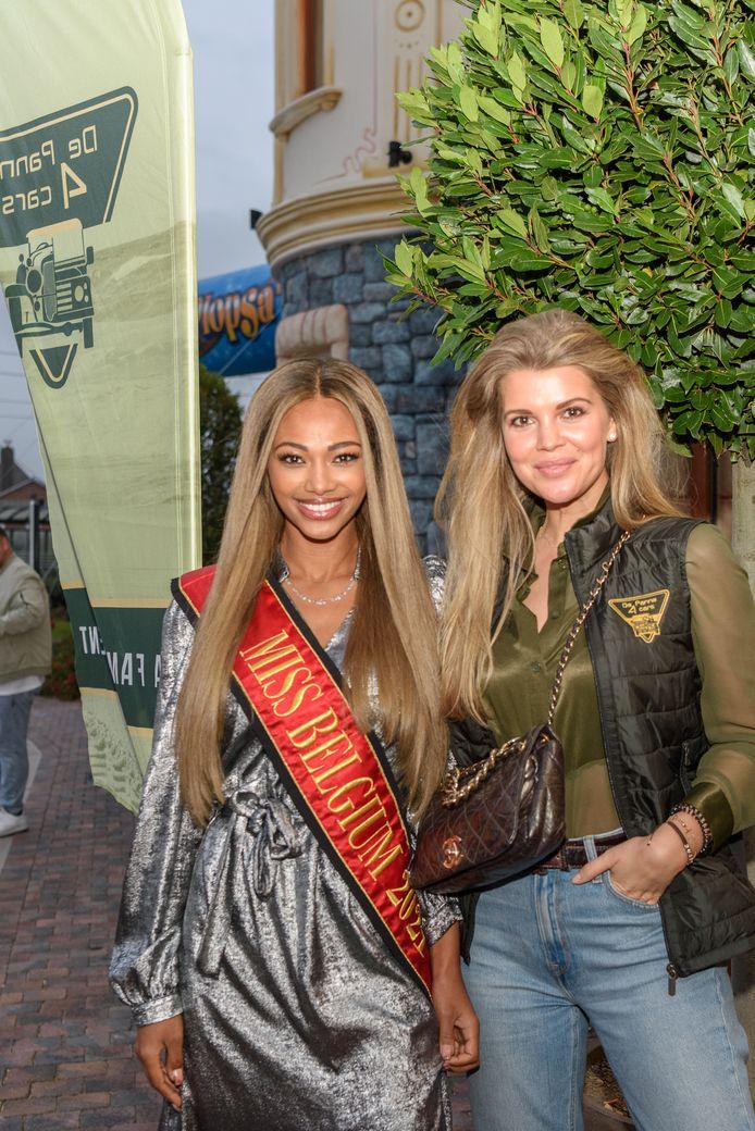 Miss België Kedist Deltour en Justine Dejonckheere (ex Miss België 2011) ontvingen de deelnemers.