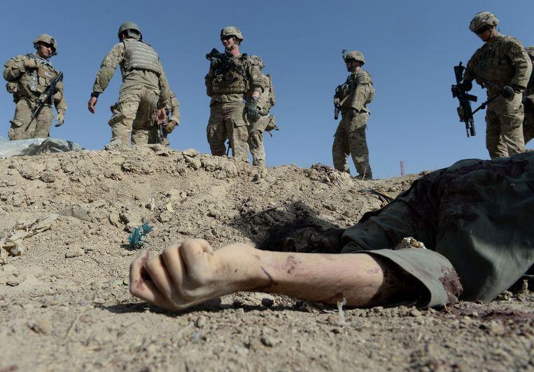 Amerikaanse soldaten zijn sinds 2001 actief in Afghanistan. Beeld AFP