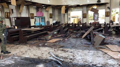 Zeker 20 doden en 81 gewonden bij dubbele zelfmoordaanslag aan katholieke kerk op Filipijnen, IS eist aanval op