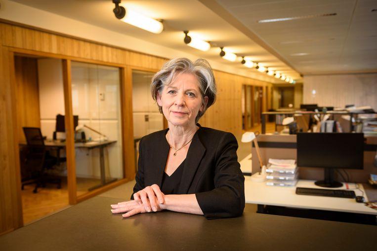 Kristel Baele, voorzitter Raad voor Cultuur. Beeld Ronald van den Heerik