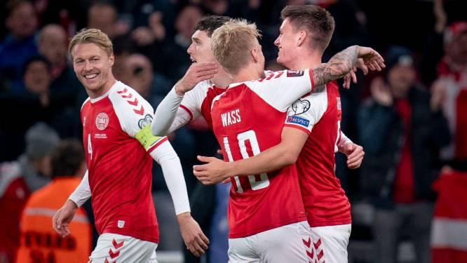 Le Danemark qualifié pour le Mondial, le Portugal et CR7 étrillent le Luxembourg, l'Angleterre se complique la tâche