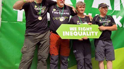 Fairfoxes zamelen 7.000 euro in