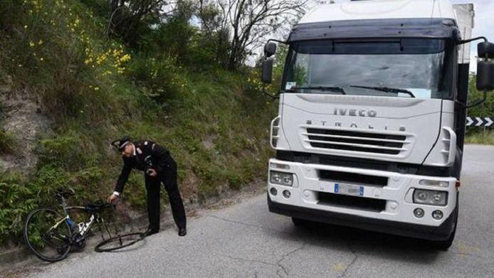 Het ongeval gebeurde in de buurt van het Italiaanse Rimini