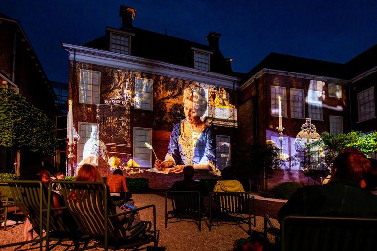 Maria Louise was here in Museum Princessehof in Leeuwarden. Beeld Ruben van Vliet