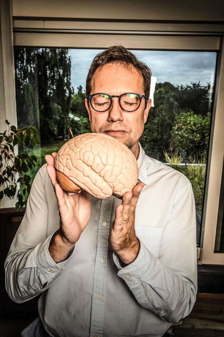 Björn Prins: 'Er is geen kwaliteitscontrole op trainers. Let dus goed op de achtergrond van je trainer als je lessen wilt volgen.' Beeld Koen Bauters