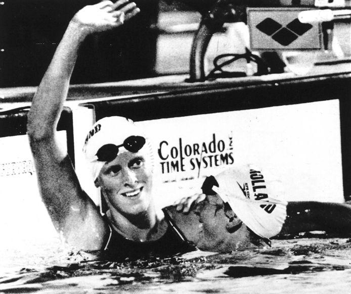 Annemarie Verstappen in haar tijd als topsporter.
