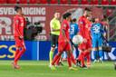 FC Twente druipt af na weer een nederlaag in eigen huis.