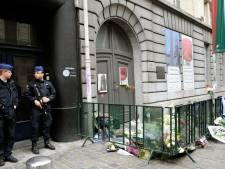 Le ministre français de l'Intérieur au Musée juif