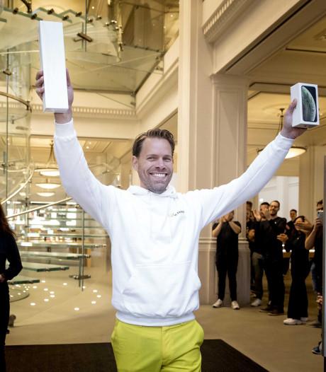 Nieuwste iPhones over de toonbank: 'Dit is de mooiste dag van mijn leven'