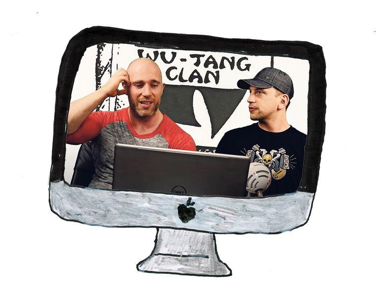Rock Reacts reageren op 'Protect Ya Neck' van de Wu-Tang Clan. Beeld Studio Ski