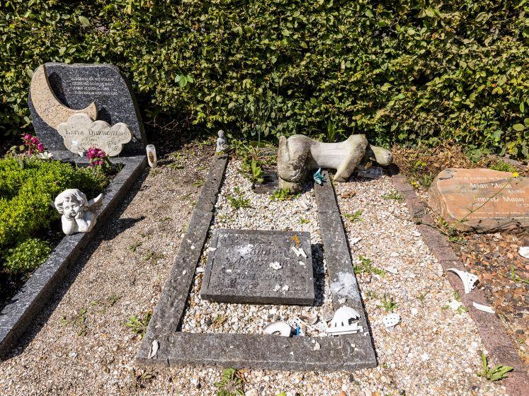Vrouw roept gedupeerden vernieling begraafplaats op zich te melden: 'Ik hoop 10.000 euro te kunnen verdelen'