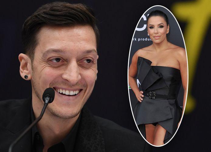 Mesut Özil en Eva Longoria (inzet) gaan samen in zaken.