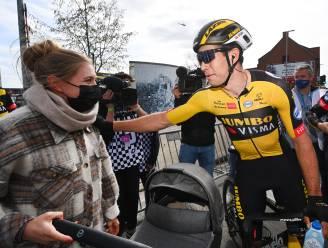 """Vrouw Sarah en zoon Georges fier op Van Aert: """"Hij keek in de 'voiture' en zei: 'Ik ga hem laten slapen'"""""""