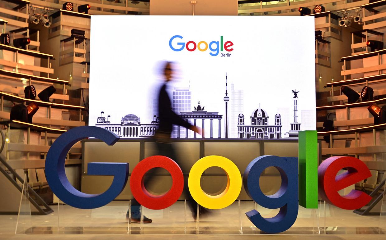 Google-CEO Sundar Pichai 'Ik hoop dat dit iedereen wat meer gemoedsrust zal geven bij de terugkeer op kantoor.'  Beeld AFP