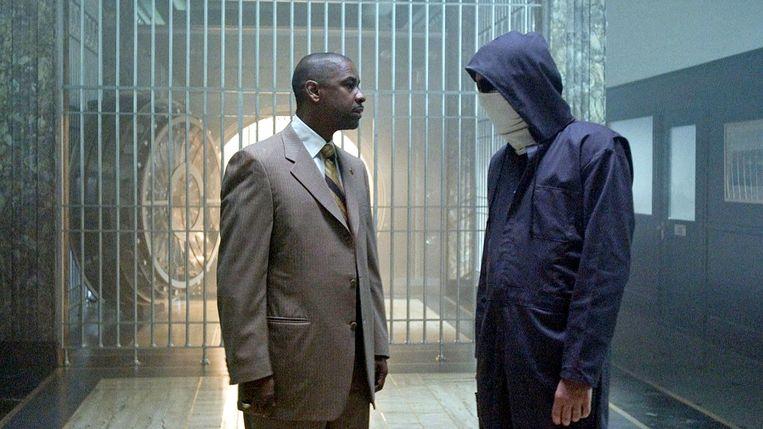 Denzel Washington en Clive Owen in Inside Man van Spike Lee. Beeld