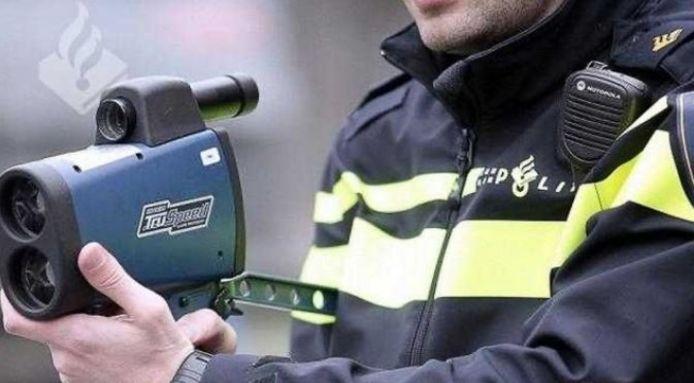 Snelheidscontrole politie.