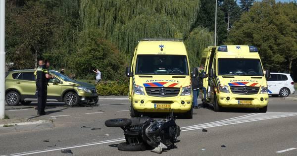 Drie ongelukken in korte tijd op Nijmeegse wegen: twee gewonden.
