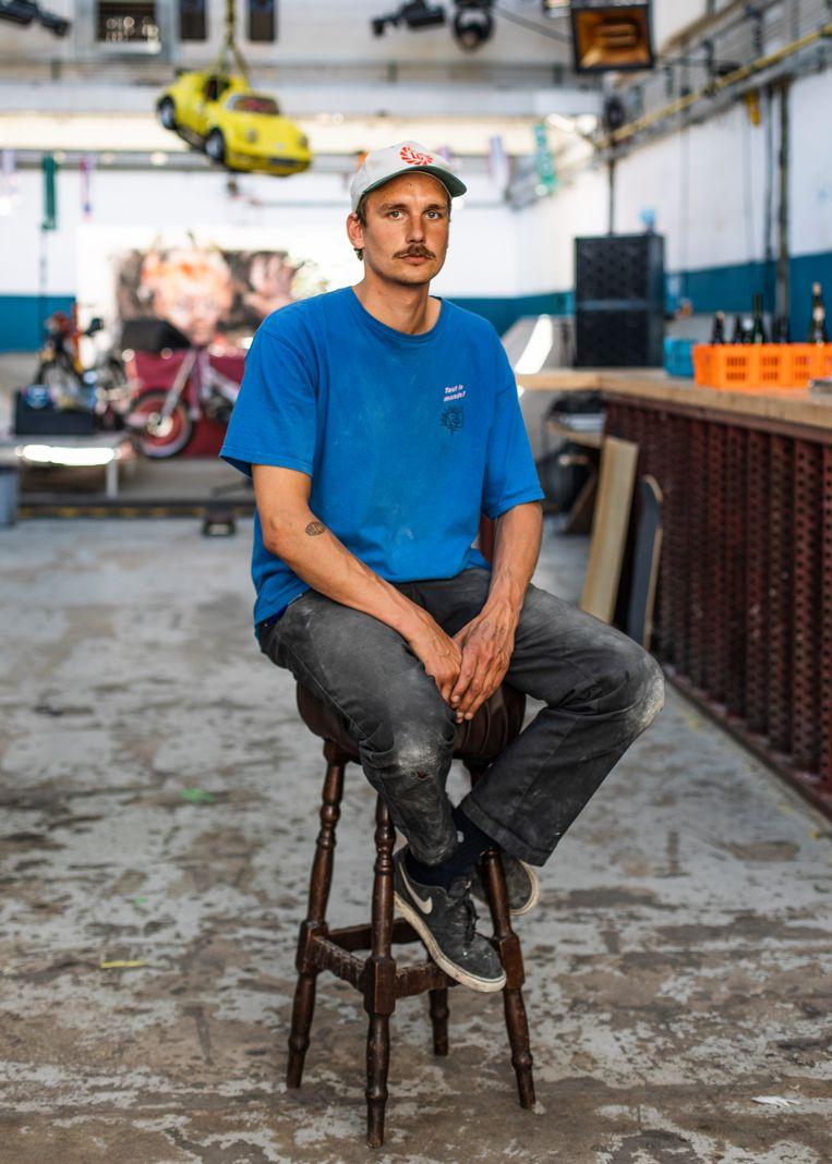 Colin Vlaar van het SkateCafe wist 75 procent huurverlaging te bedingen bij verhuurder Midvast.  Beeld Lin Woldendorp