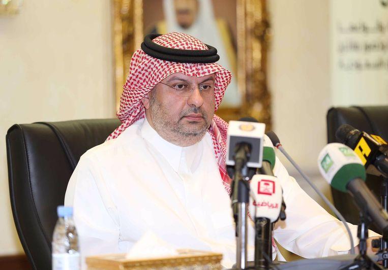 Abdullah bin Mosaad. Beeld Twitter