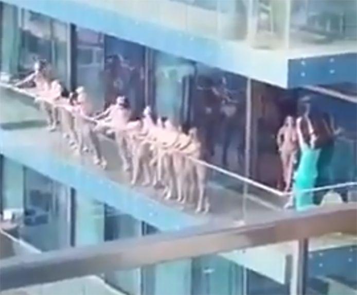 Capture d'écran de la vidéo devenue virale