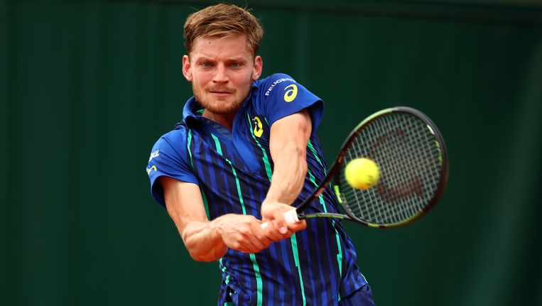 David Goffin. Beeld Getty Images