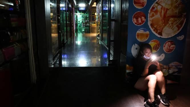 Miljoenen huishoudens in Taiwan zitten zonder stroom
