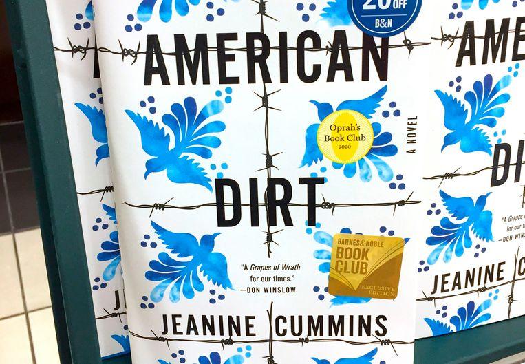 De cover van het boek American Dirt.  Beeld AFP