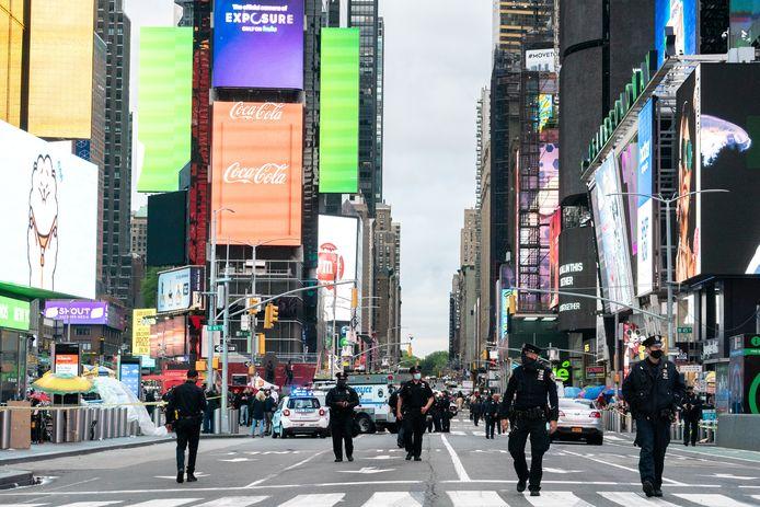 Le périmètre de Times Square a été entièrement bouclé