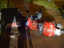 Scooters botsen tegen elkaar in Breda: vrouw raakt lichtgewond