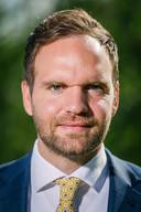 Derk Boswijk als Statenlid van het CDA.
