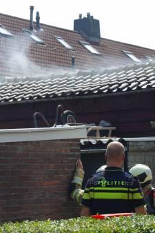 Schuur vliegt in brand in IJsselstein