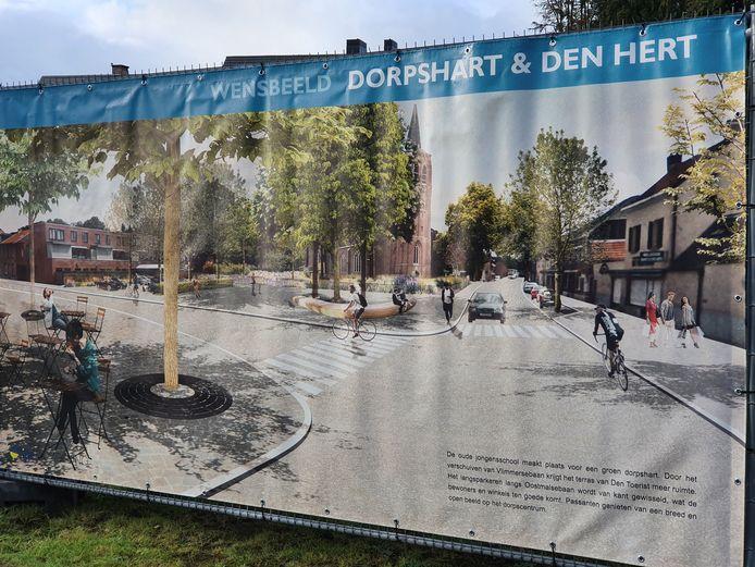 Al twee fasen van het Wensbeeld Wechelderzande zijn gerealiseerd.