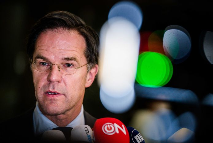 VVD-leider en premier Mark Rutte