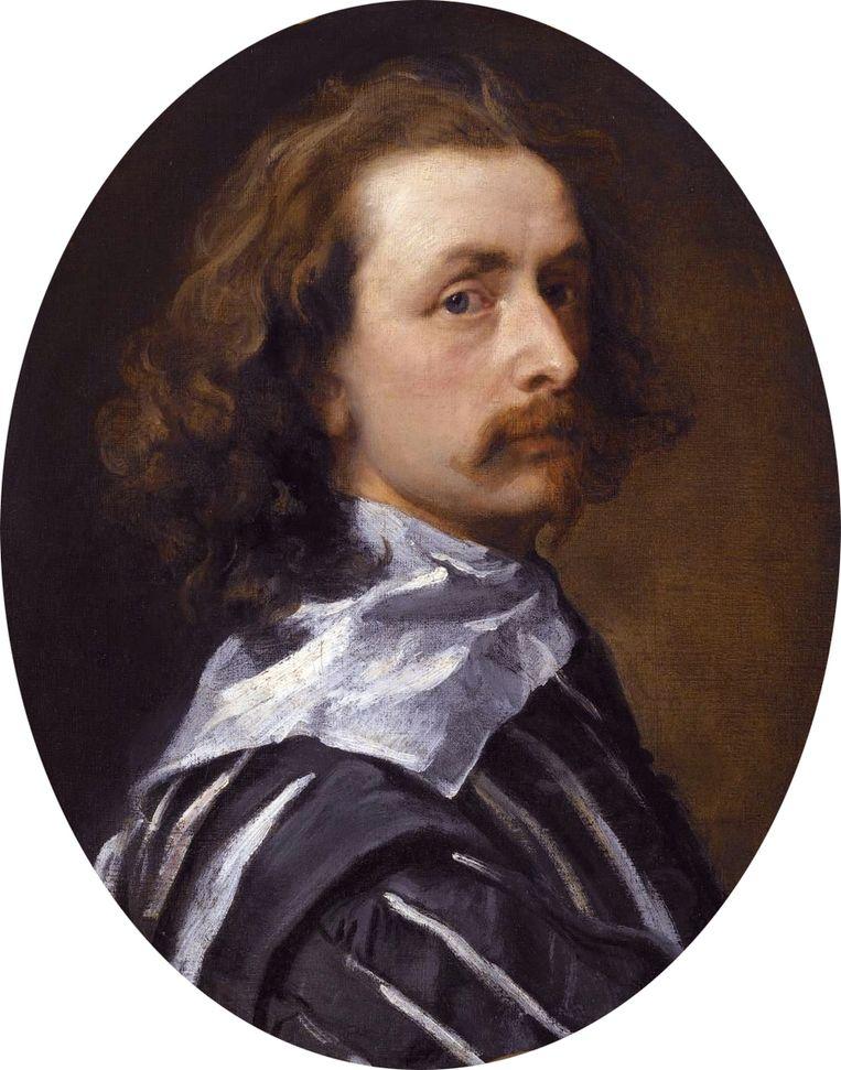 Een zelfportret van Van Dyck uit 1640. Beeld kos