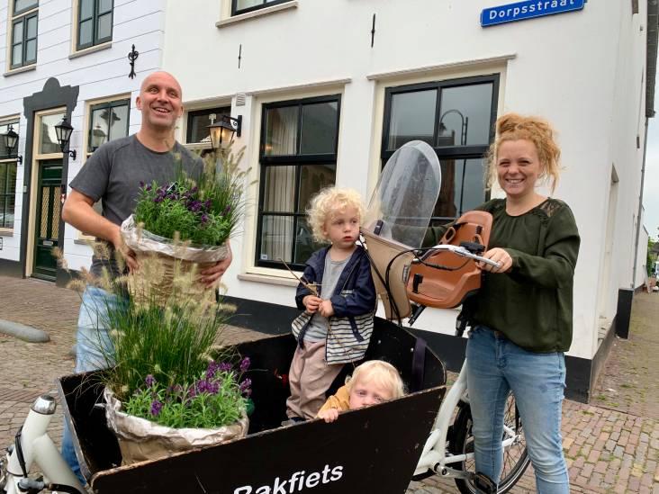 Erik en Maaike zijn de tuintoppers van de basisschool van hun kinderen