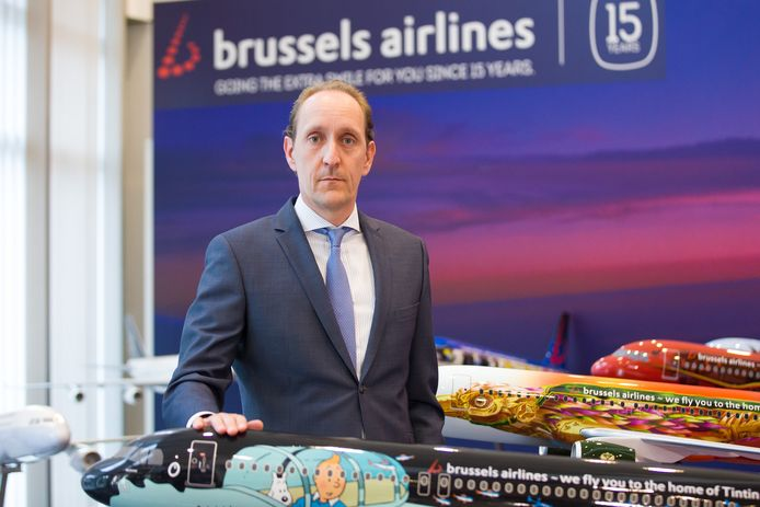 Brussels Airlines-CEO Dieter Vranckx.